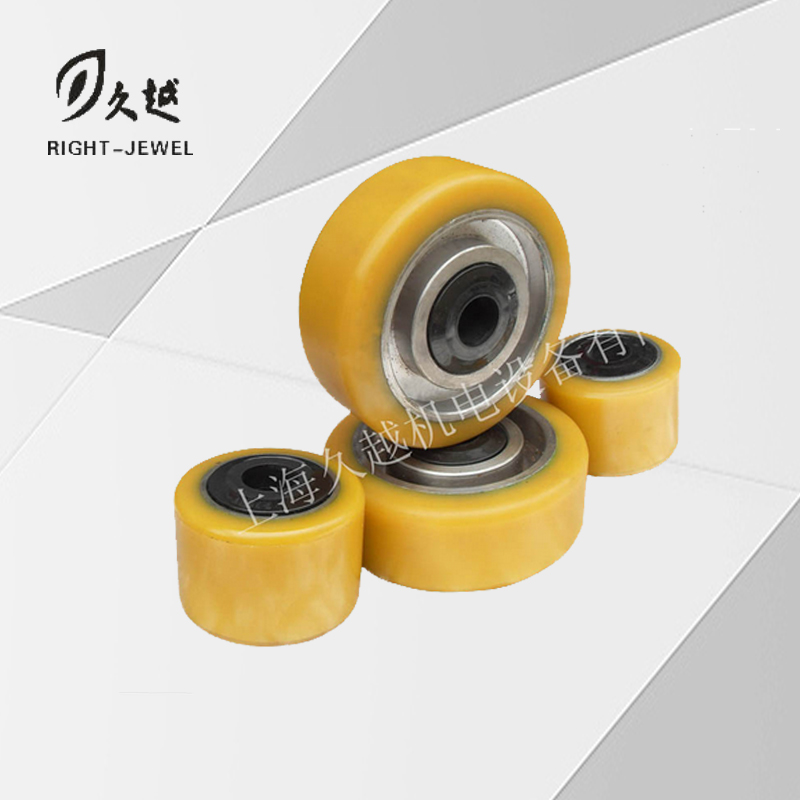 林德承重轮总成正 LINDE Load-Bearing Wheel Assembly Front